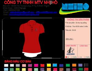 Mẫu thiết kế áo thun tay thun